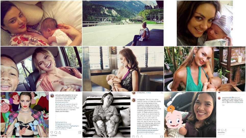 10 celeb mums who have championed breastfeeding [Photo Gallery]