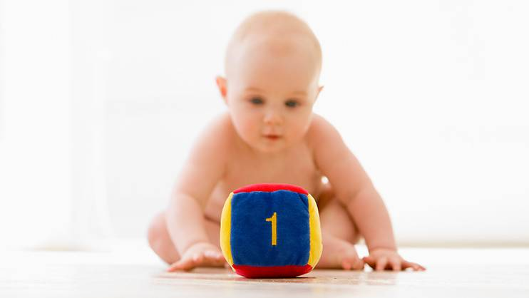 Teaching your baby math and science