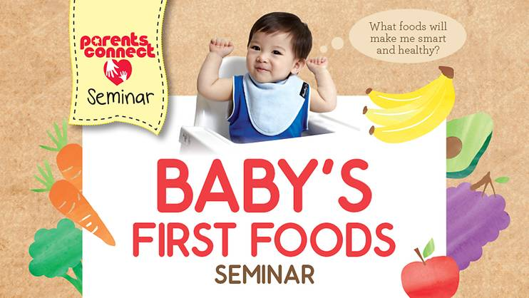 Baby's First Foods Seminar—PAST EVENT