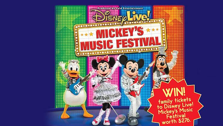 Disney Live! - Mickey's Music Festival Contest- PAST CONTEST