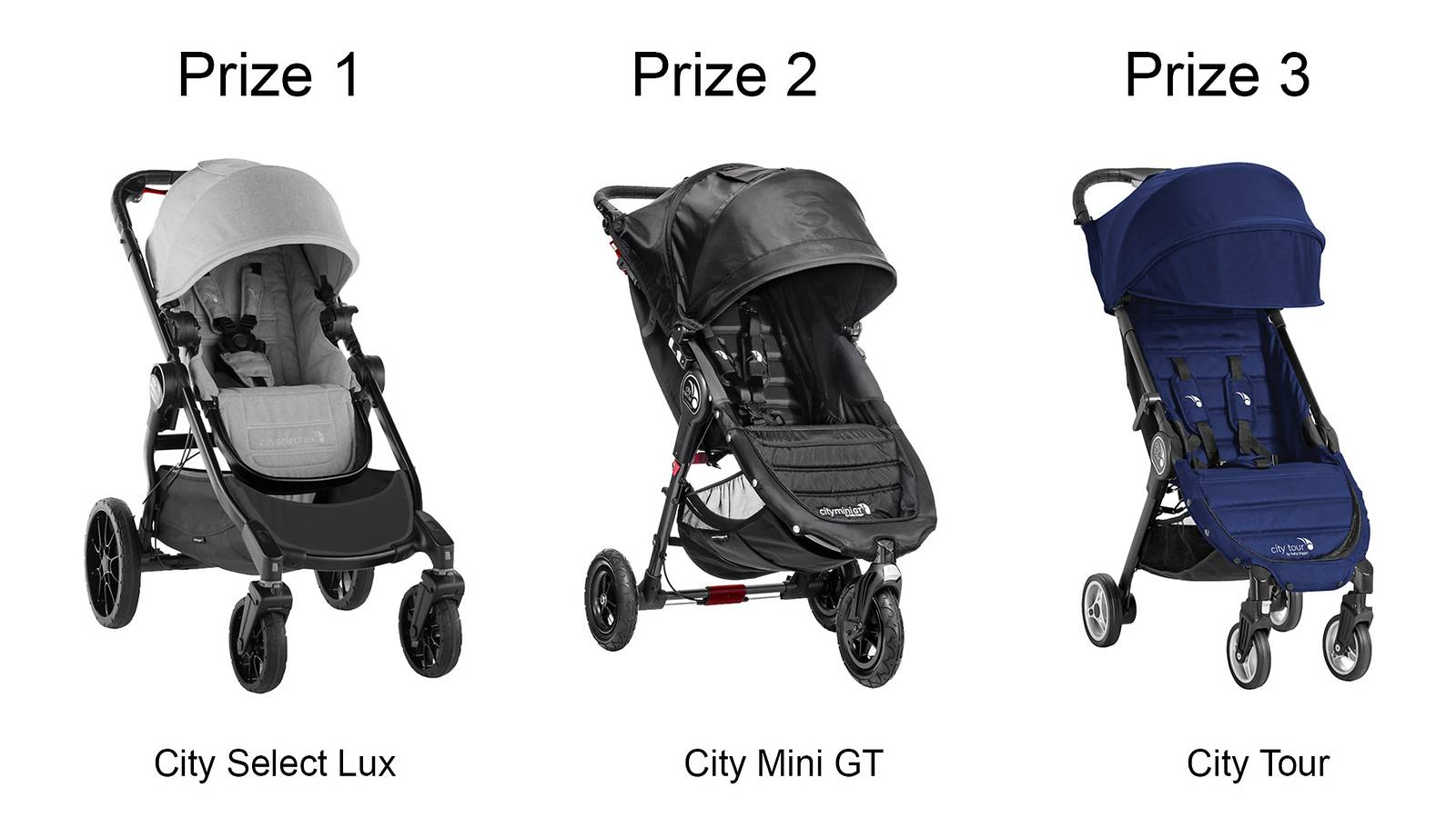 WIN Baby Jogger strollers and accessories, worth up to $1,659!