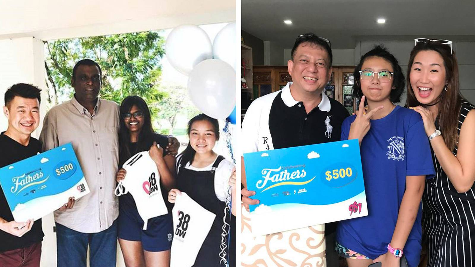 $500 Surprise for 2 Lucky Dads ahead of Father's Day