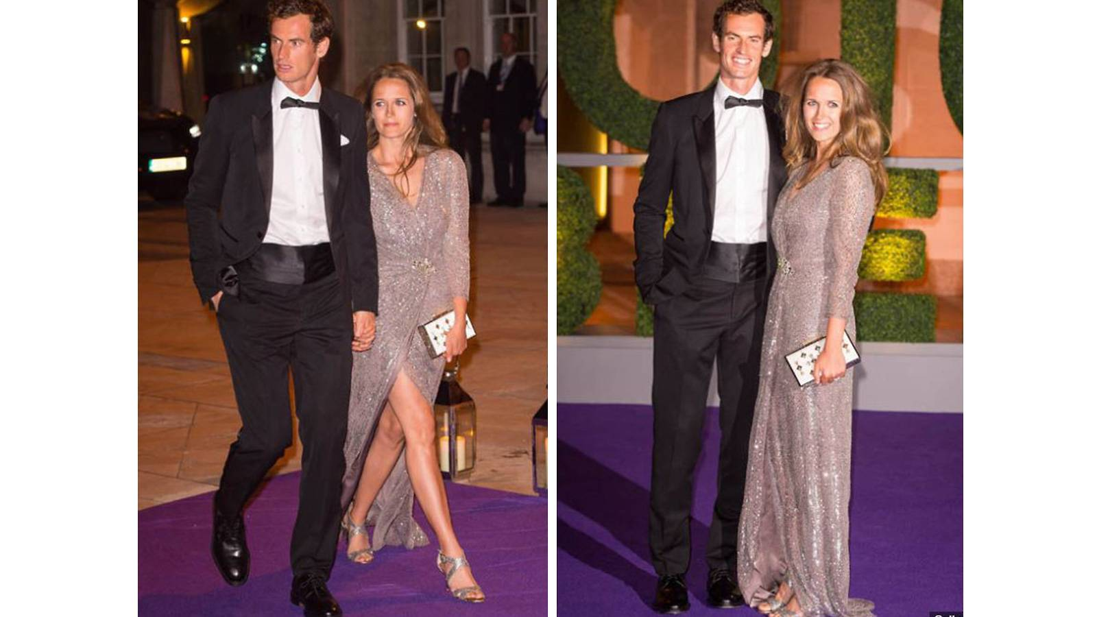 Andy Murray and Kim Sears, both 30