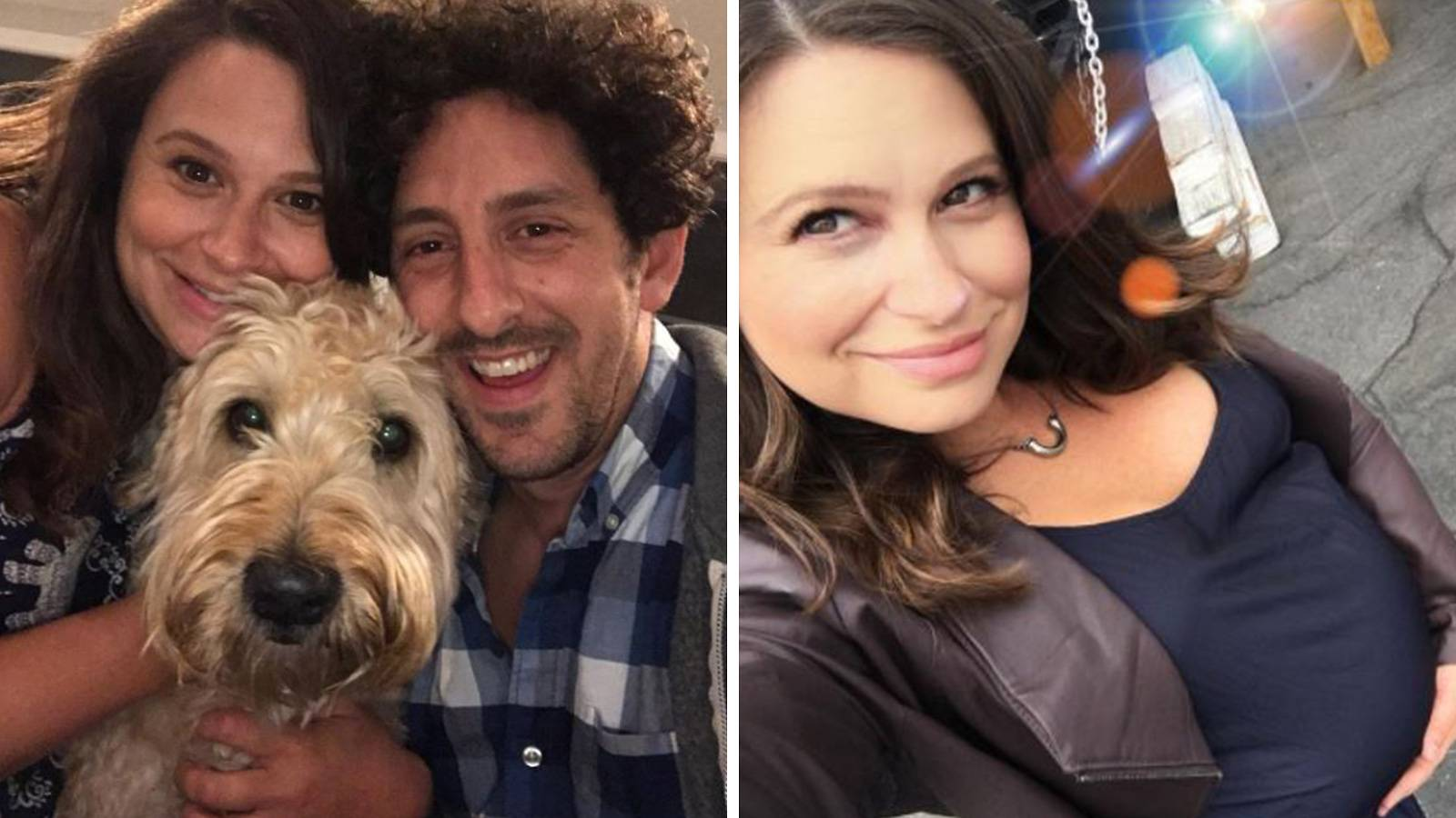 Katie Lowes, 35, and Adam Shapiro