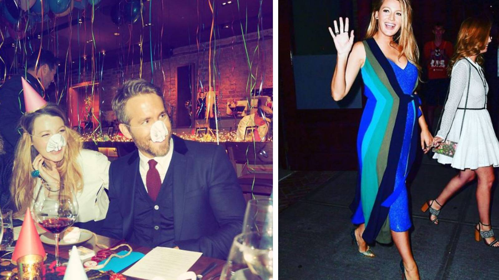 9. Ryan Reynolds and Blake Lively