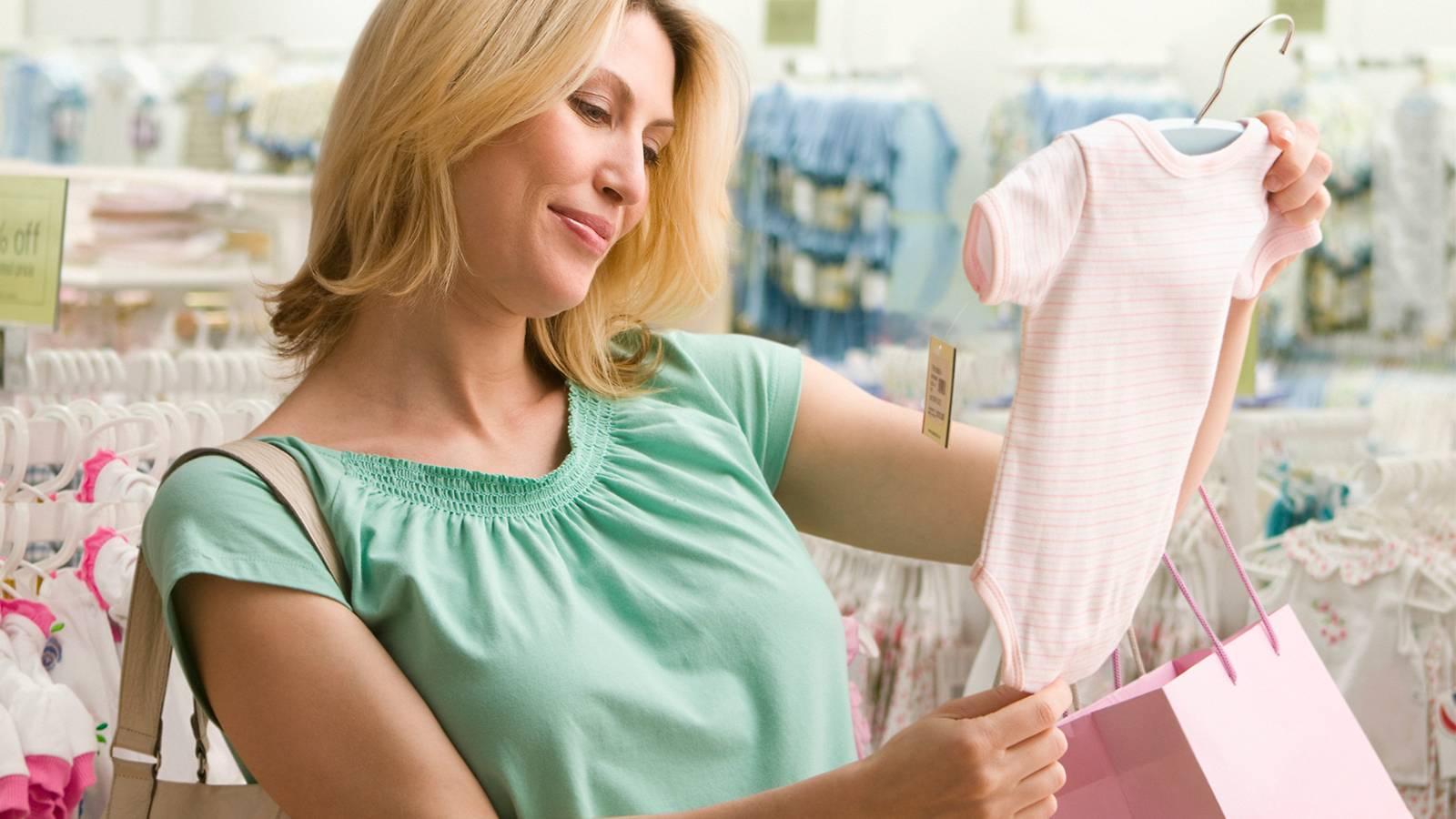 نکات مهم هنگام خرید لباس نوزاد