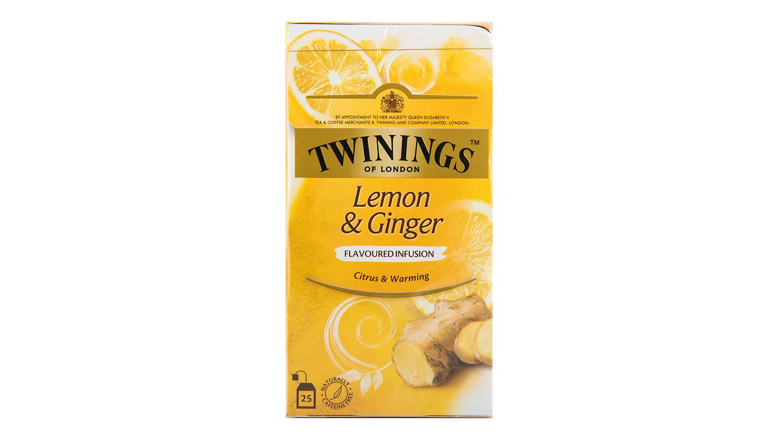 Twinings Infusion Tea (Lemon and Ginger)