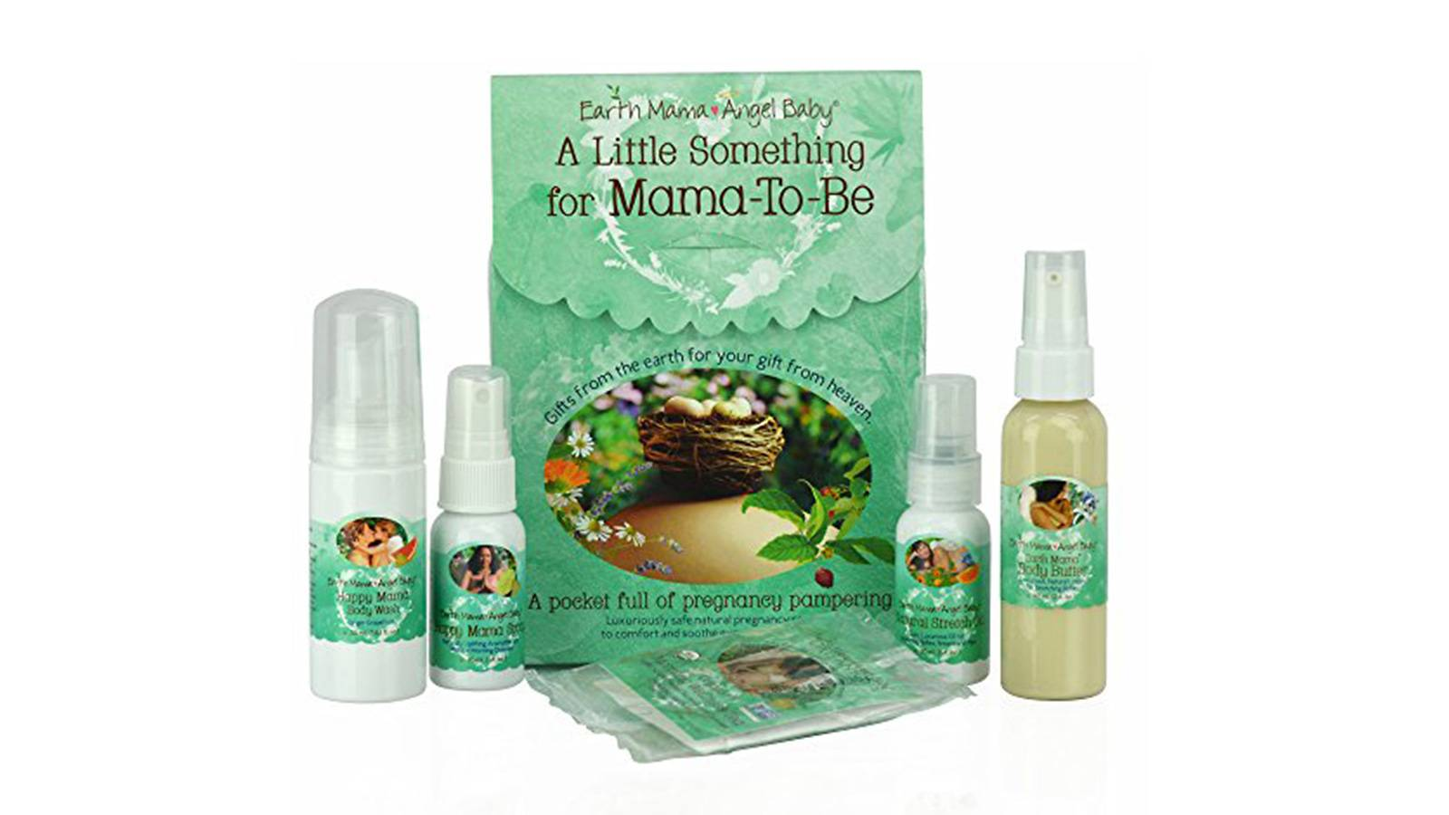 Earth Mama Angel Baby A Little Something for Mama-To-Be Gift Set