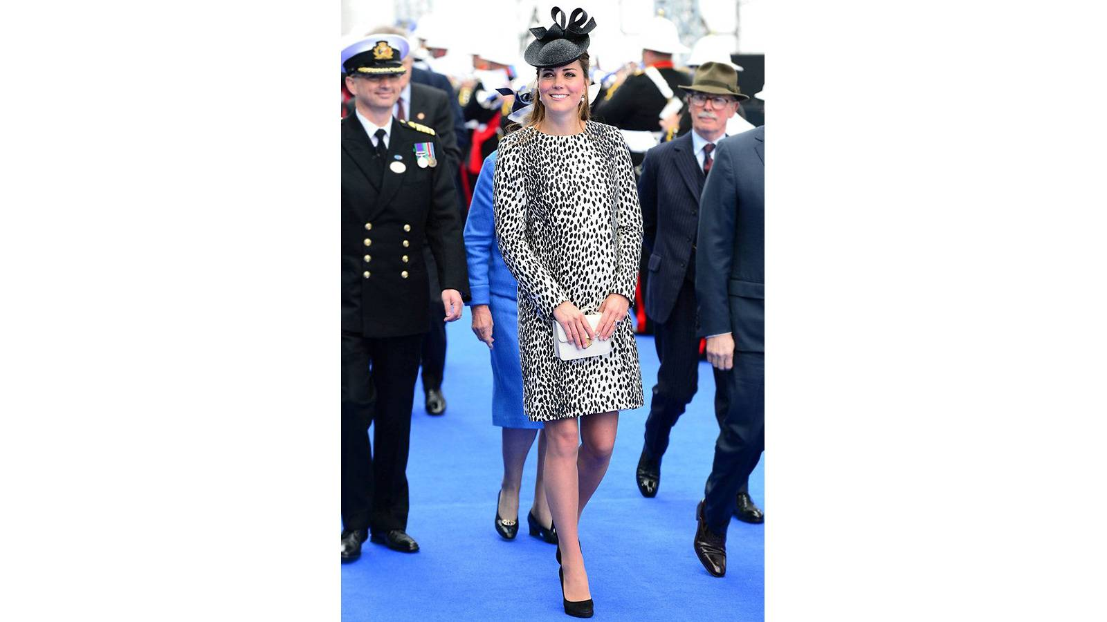 #3 The time she rocked a leopard-print dress