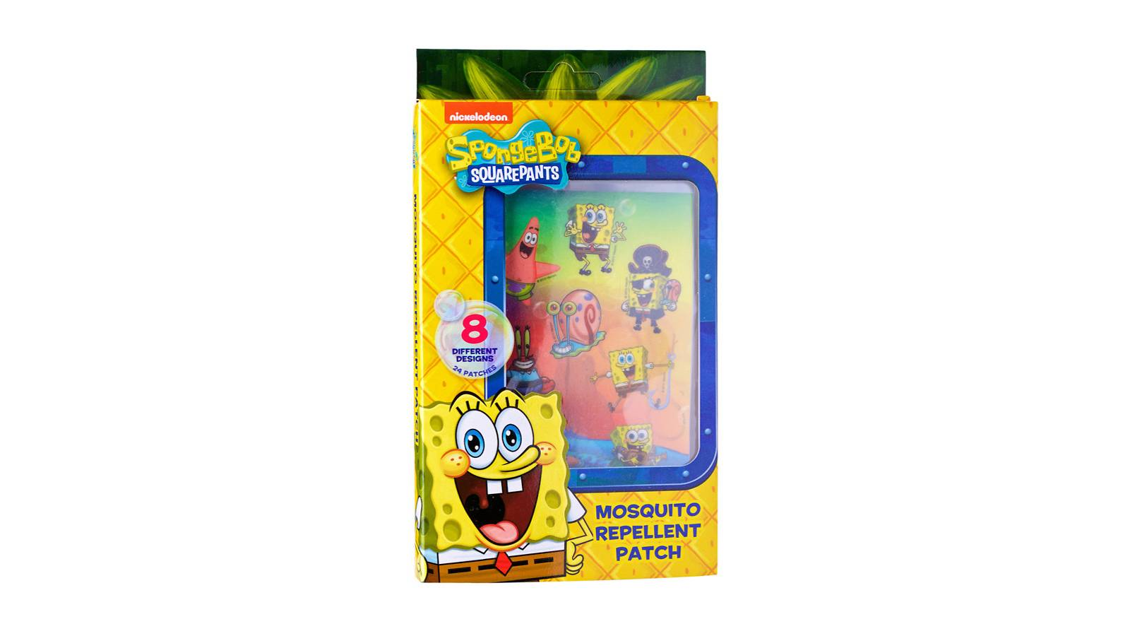 Parents-Spongebob Mosquito Repellent Patch 24 patches