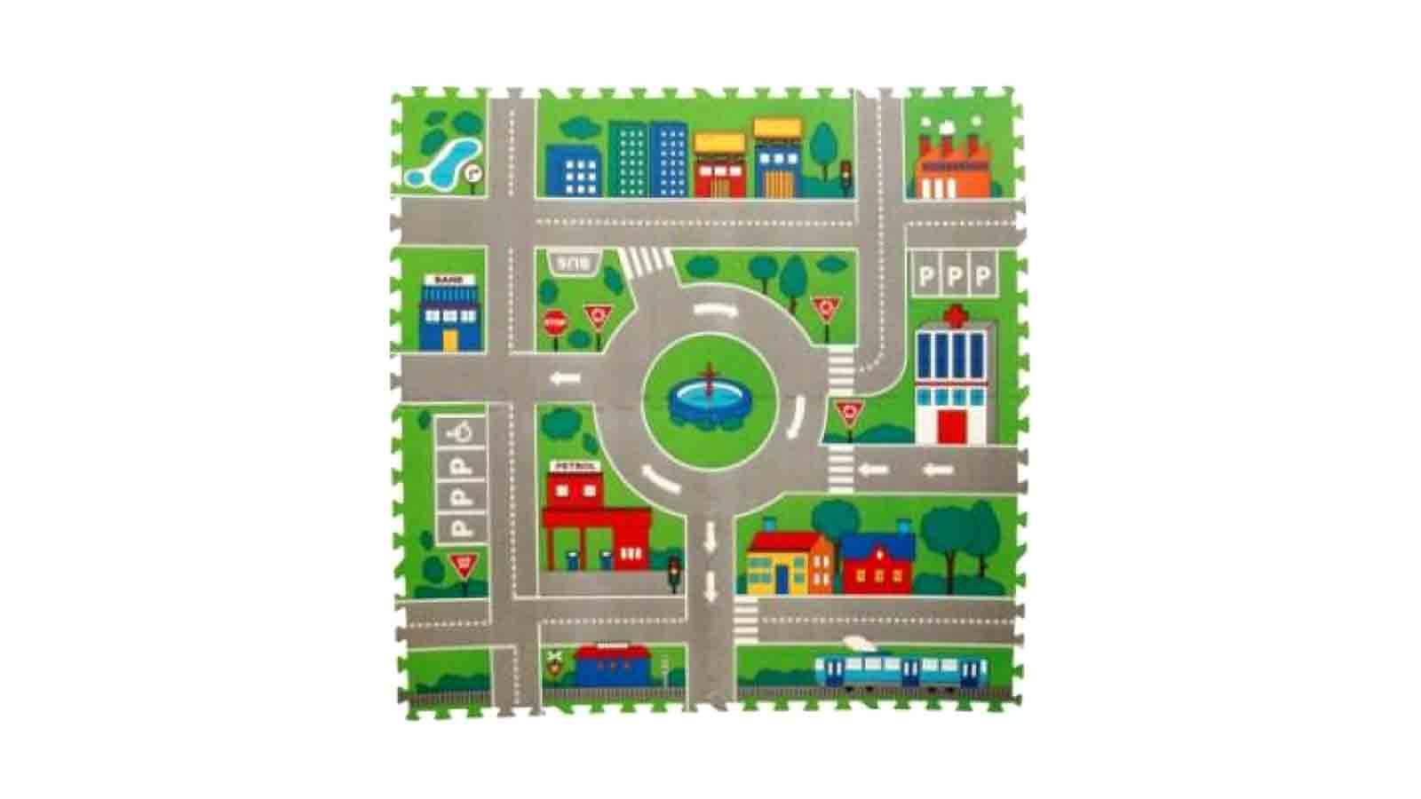 Lucky Baby Tell Me A Story City Map Mat