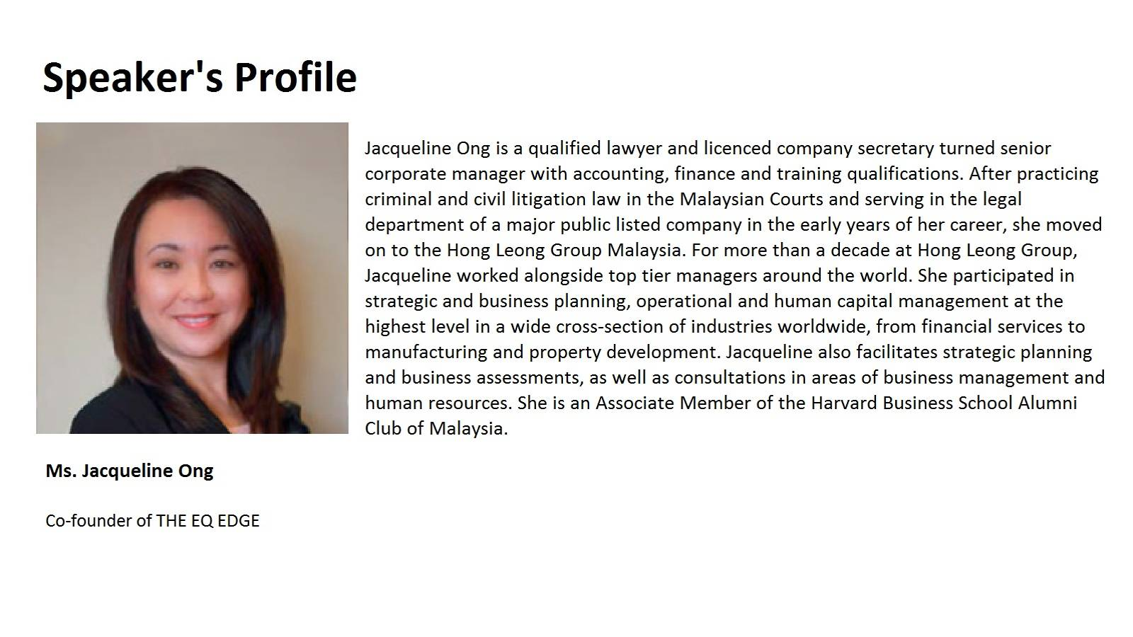 Dec seminar_Speakers Profile [Jacqueline]
