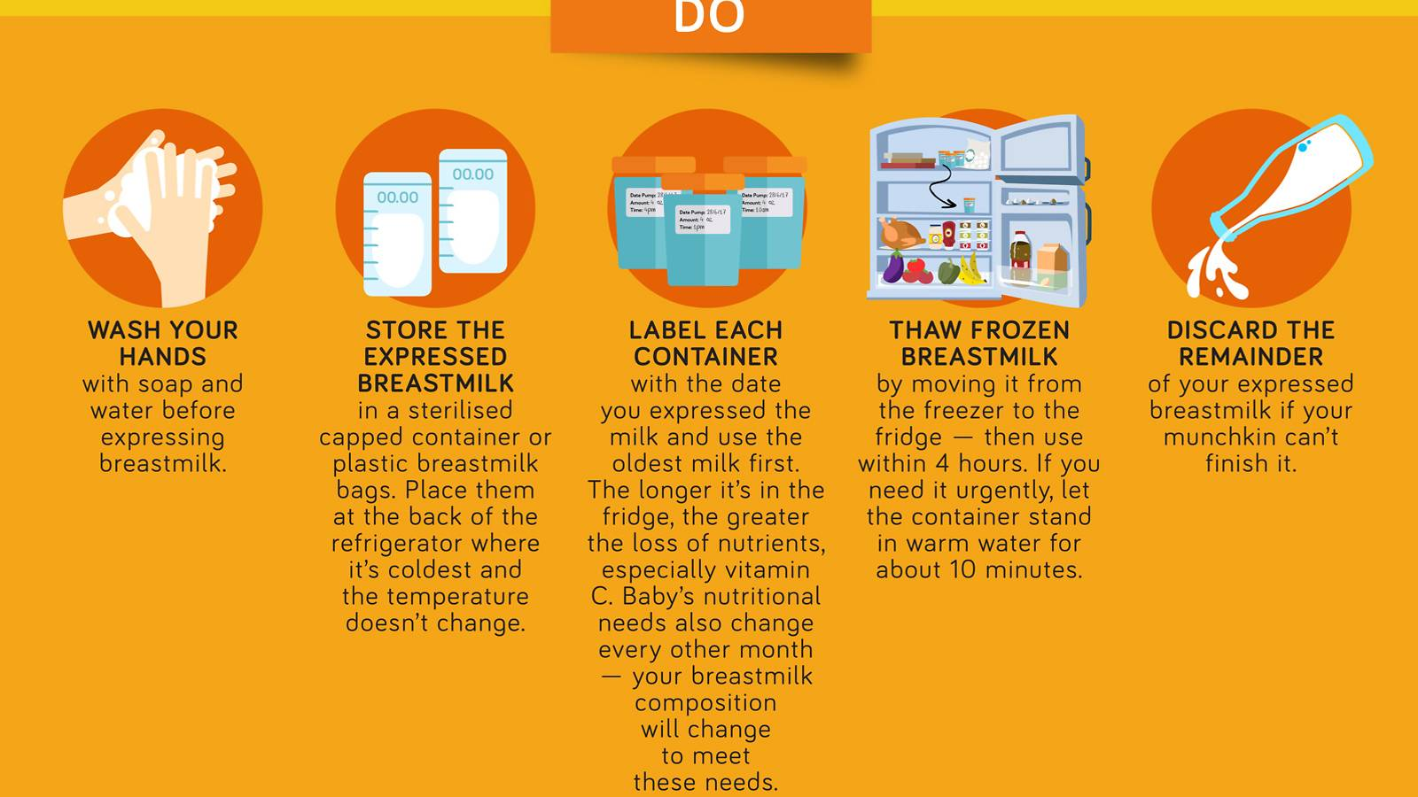 Babies- Store breastmilk safely Your guide to tips and tricks [Infographic]-2