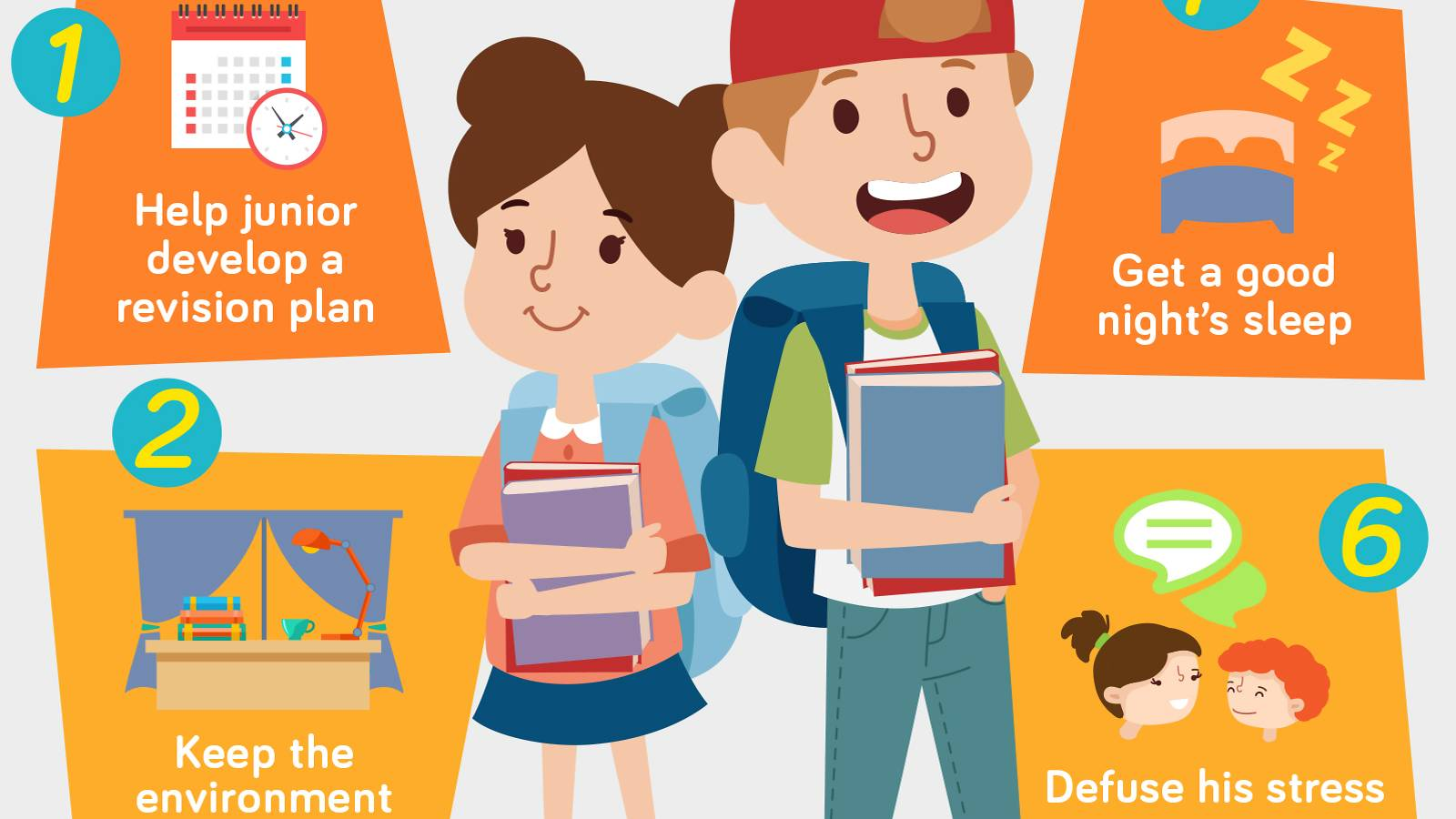 Kids-7 ways to keep junior healthy for their exams [Infographic]-2