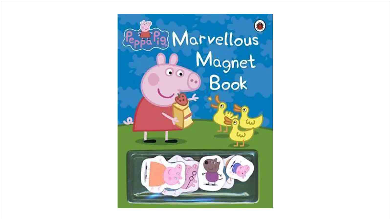 Tots-BUYER'S-GUIDE-10-Must-read-books-PEPPA-PIG-MARVELLOUS-MAGNET-BOOK