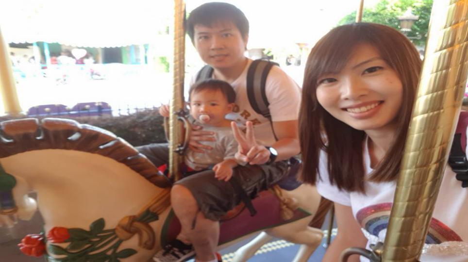 Carleen Ong and family