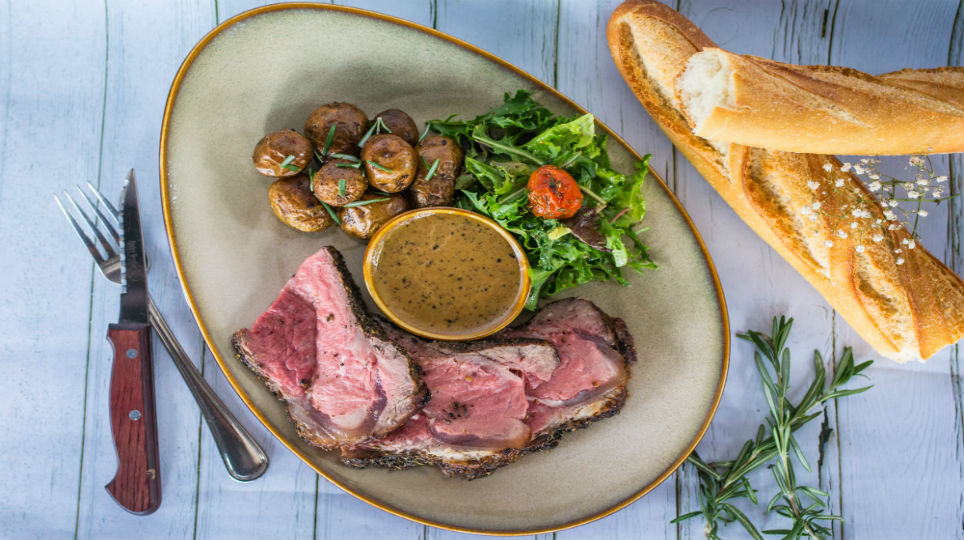 Restaurant Review - Les Bouchons - sunday roast.jpg