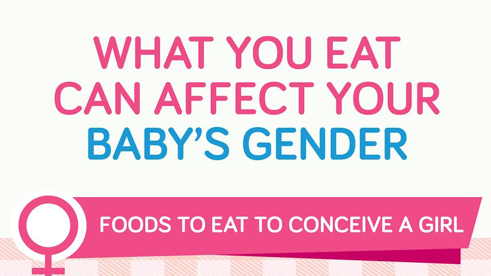 Foods that can help you conceive a girl or boy!