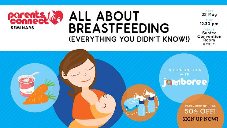 Parents Connect Seminar: All about Breastfeeding (Everything you didn't know!)—PAST EVENT