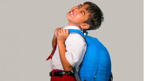 Is my child's schoolbag too heavy?