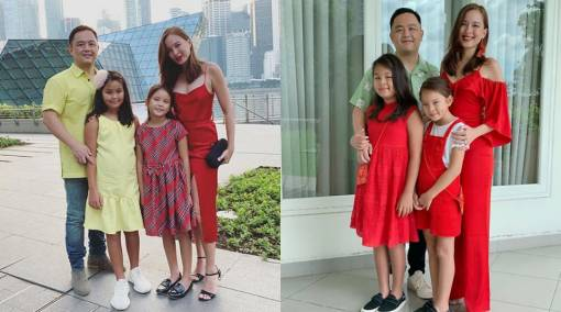 Celeb mum Teh May Wan: How my kids treat others is highly important to me