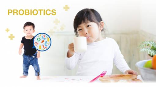 Include probiotics in your child's diet to boost their gut health