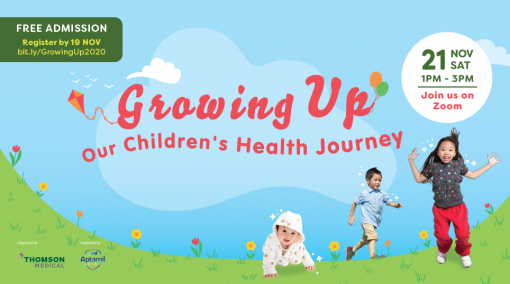 Growing Up: Our Children's Health Journey - Past Event