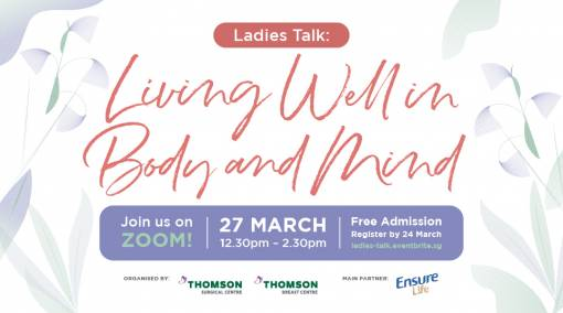 Ladies Talk: Living Well in Body and Mind - Past Event