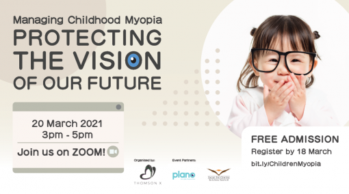 Managing Childhood Myopia Webinar - Protecting The Vision Of Our Future - PAST EVENT