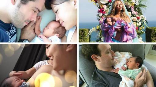 11 sweet celeb birth announcements that'll melt your heart [Photo Gallery]