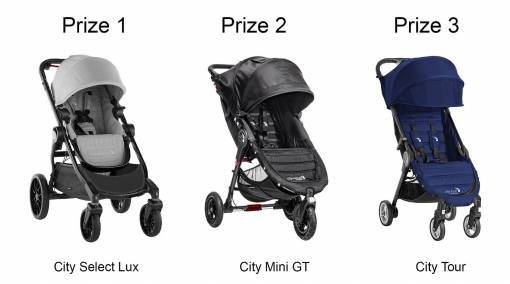 WIN Baby Jogger strollers and accessories, worth up to $1,659! ― Past Event