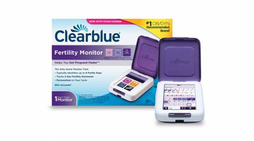 Clearblue Advanced Fertility Monitor with 20 sticks and 4 pregnancy tests