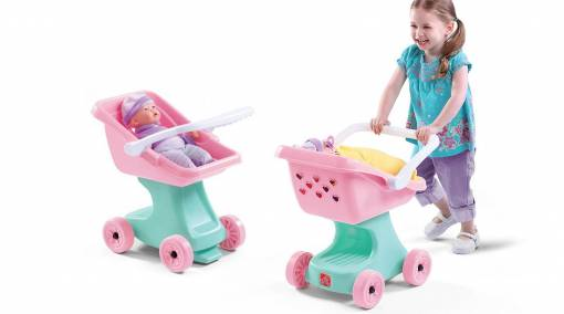 Tots-BUYER'S-GUIDE-9-best-role-playing-toys-for-toddlers-STEP2-DOLL-STROLLER