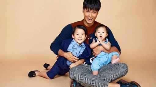Celeb dad Andie Chen: Parenting is like living life again