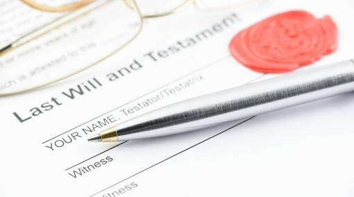 Making a will: Suppose you die suddenly?