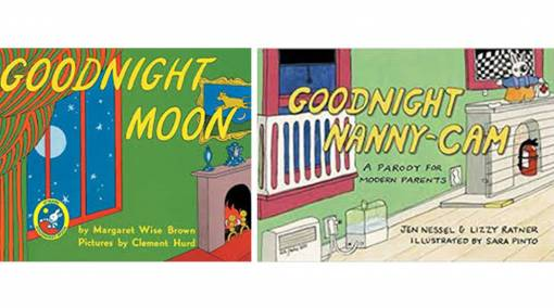 Goodnight Moon & Goodnight Nanny-Cam: A Parody for Modern Parents