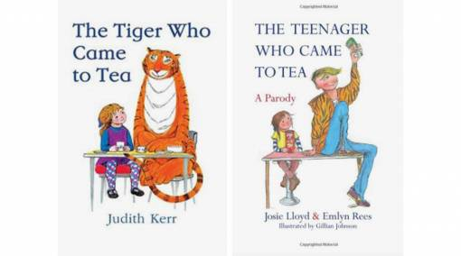 The Tiger Who Came to Tea & The Teenager Who Came to Tea