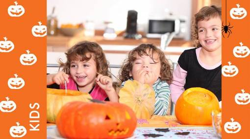 Having lots of good, safe fun this Halloween with kids