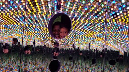 MUM SAYS 6 reasons junior will love Yayoi Kusama's show