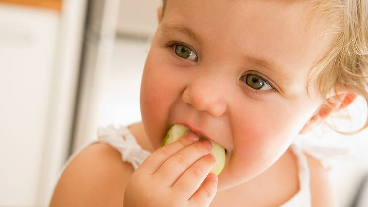 Are you giving your child too much good food?