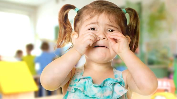 My toddler is still crying in preschool!