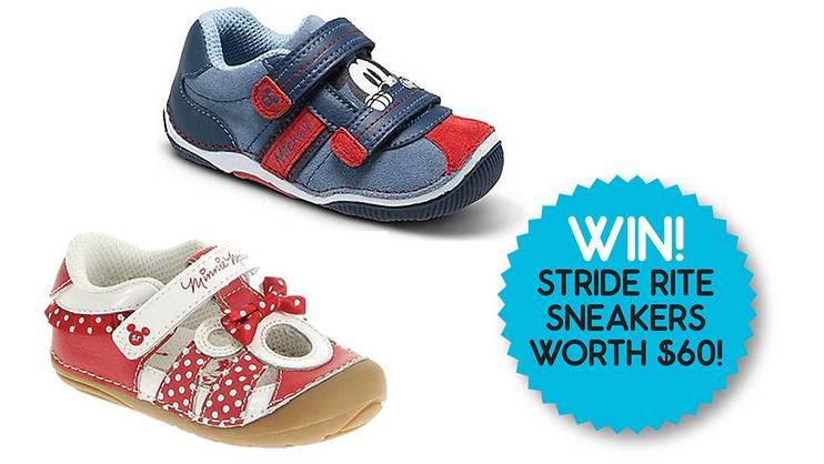WIN Stride Rite Baby Disney Sneakers- PAST CONTEST